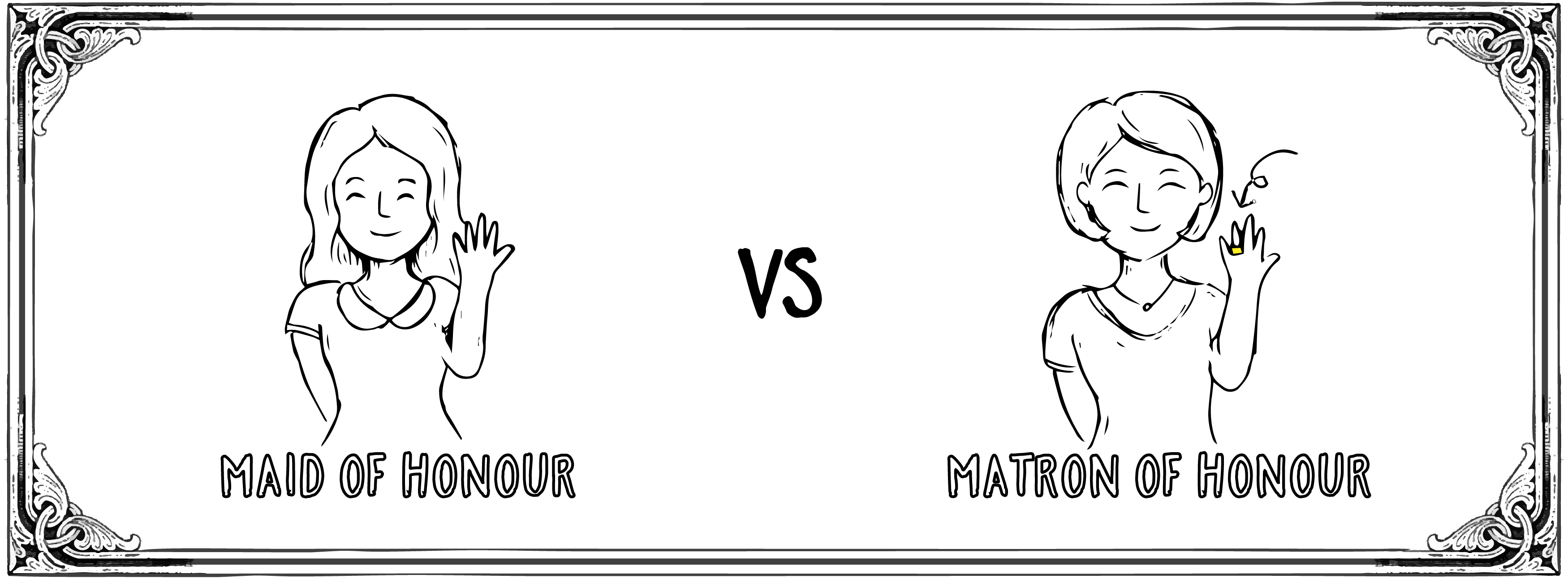 Maid of Honour vs Matron of Honour Miraculove