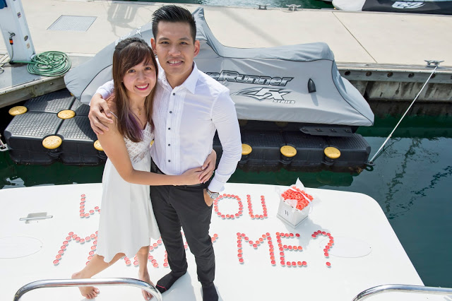 Yacht Surprise Proposal