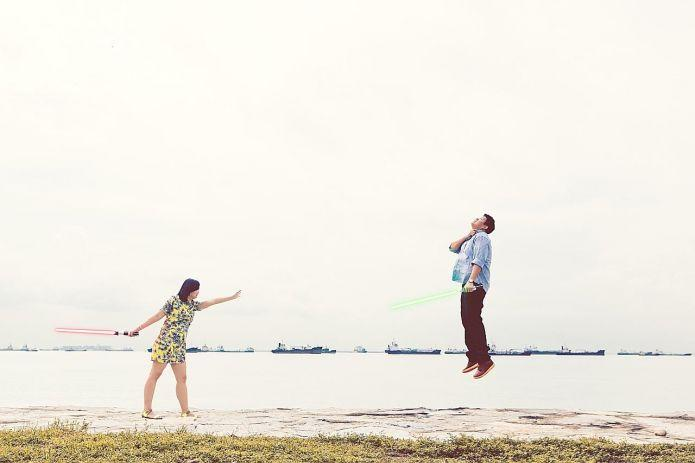 Star Wars Pre Wedding Shoot