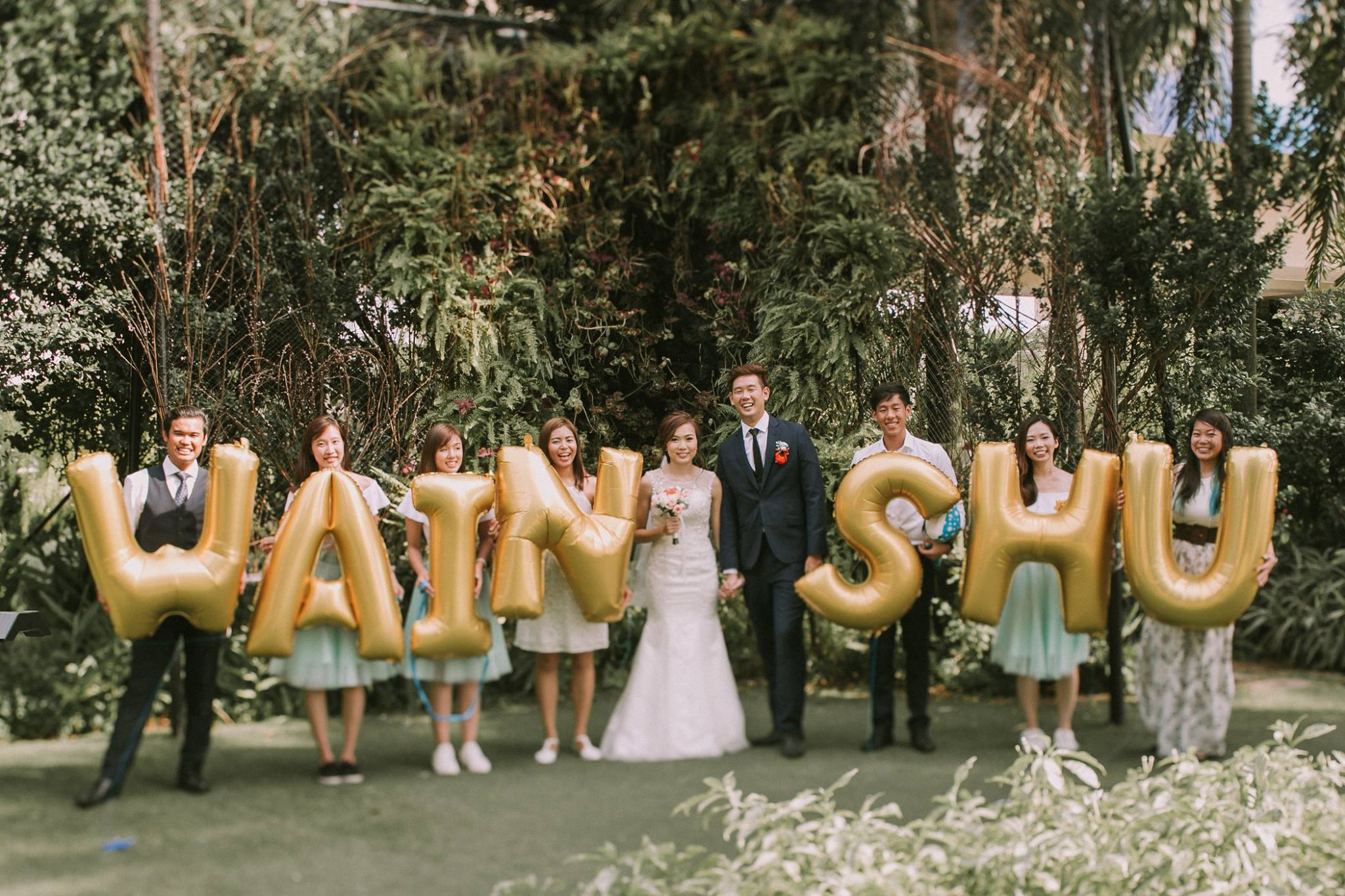 Wain Shuling Marine Themed Wedding Singapore Miraculove