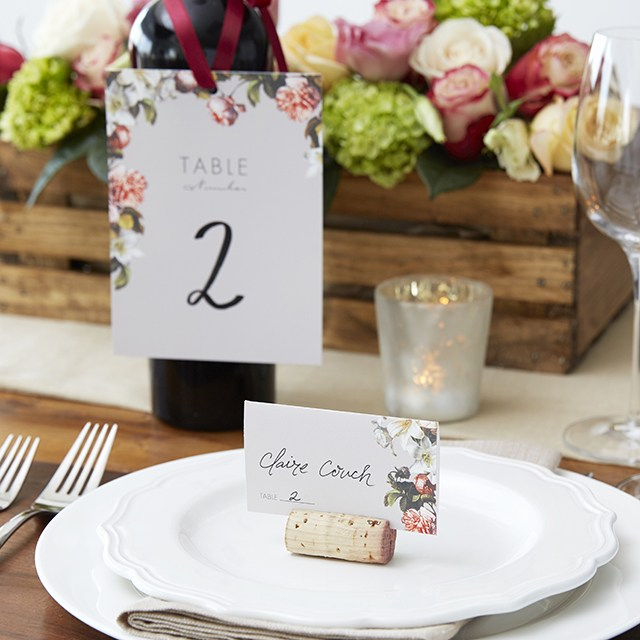 Creative Wedding Place Card Ideas: Wine Cork Place Card Holders