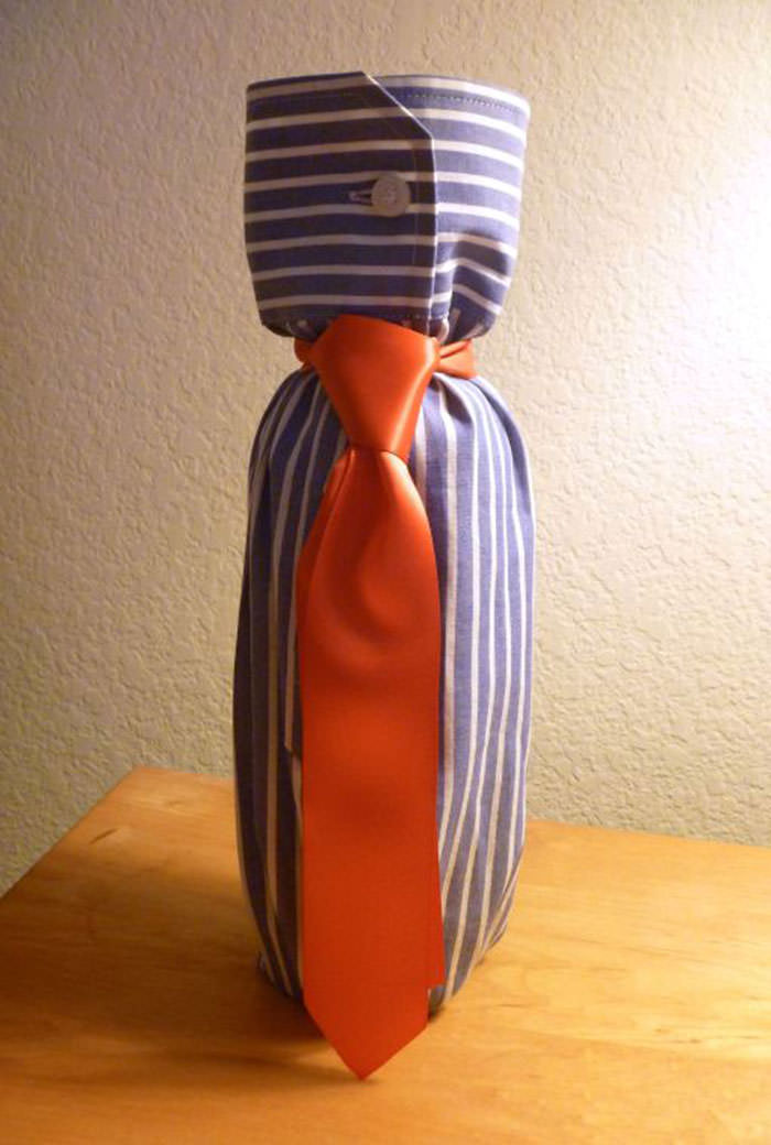 shirt tie gift wrap miraculove blog