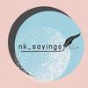 nk_sayings