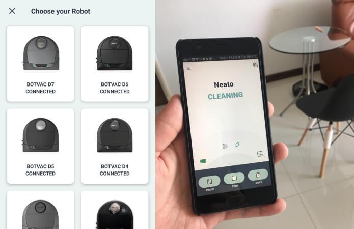 หุ่นยนต์ดูดฝุ่น Neato Botvac D7 Connected