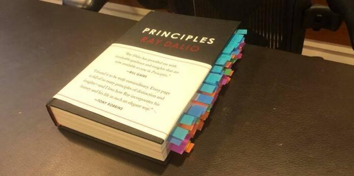 หนังสือ principles