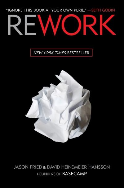 หนังสือ Rework