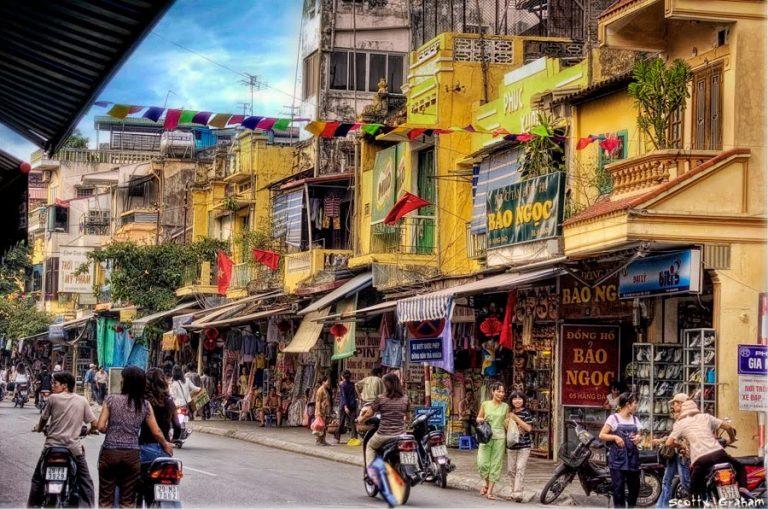 1 ngày rong chơi thỏa thích ở khu phố cổ Hà Nội