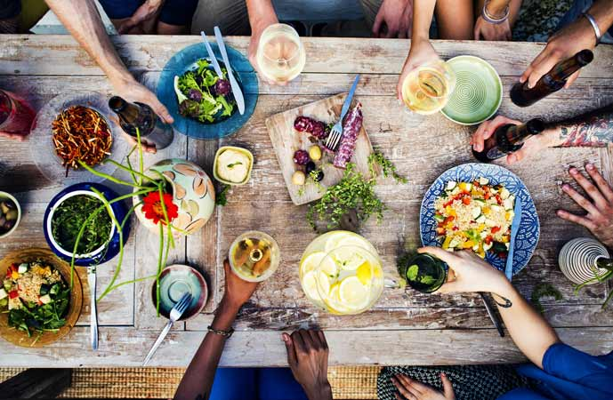 Mãn nhãn với các hình ảnh đồ ăn siêu đẹp mắt trên Instagram