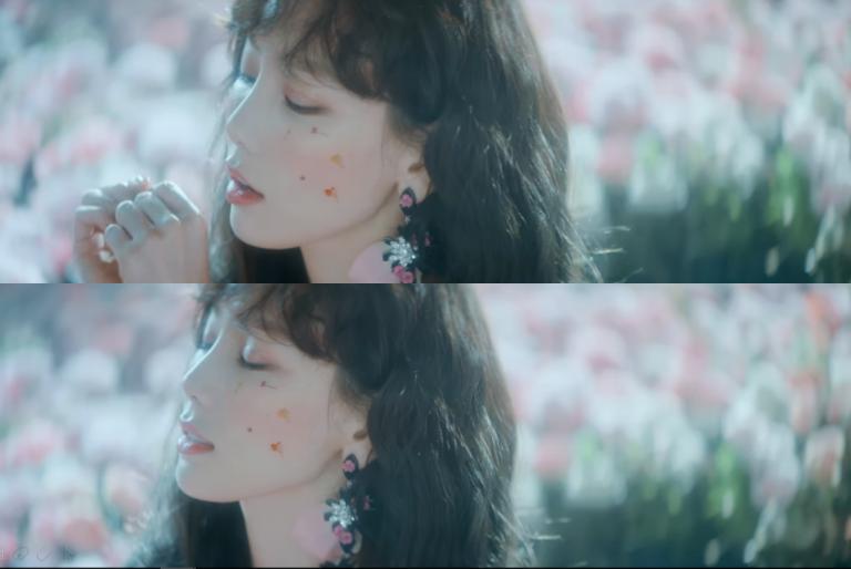 """Xu hướng trang điểm bằng hoa và sticker """"đổ bộ"""" showbiz Hàn"""