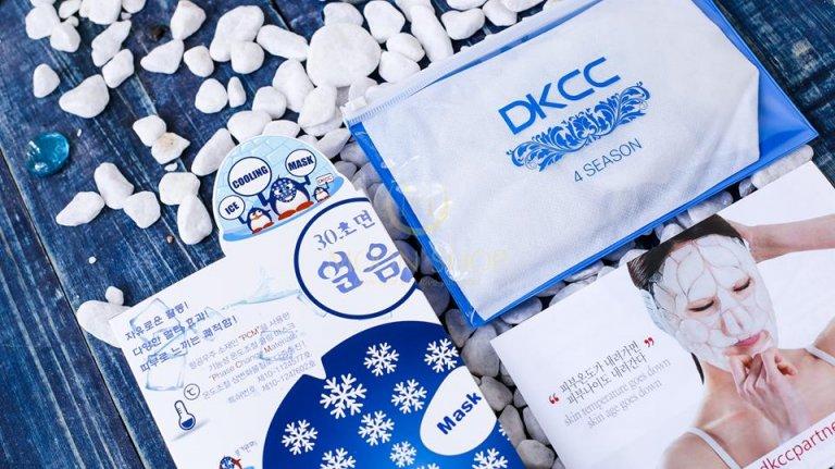 Tận hưởng cảm giác mát lạnh với mặt nạ đá Ice Cooling Mask