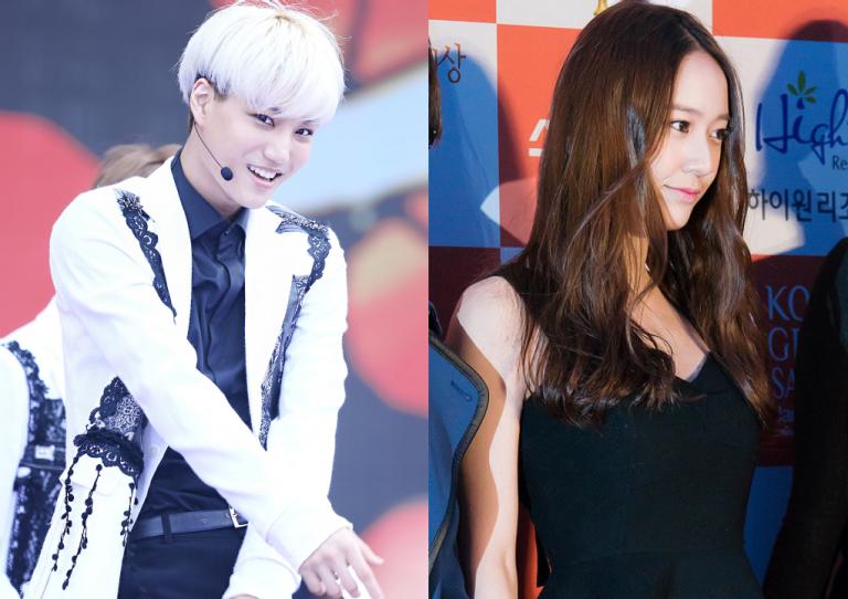 Kai (EXO) và Krystal f(x) đã chia tay sau 13 tháng hẹn hò