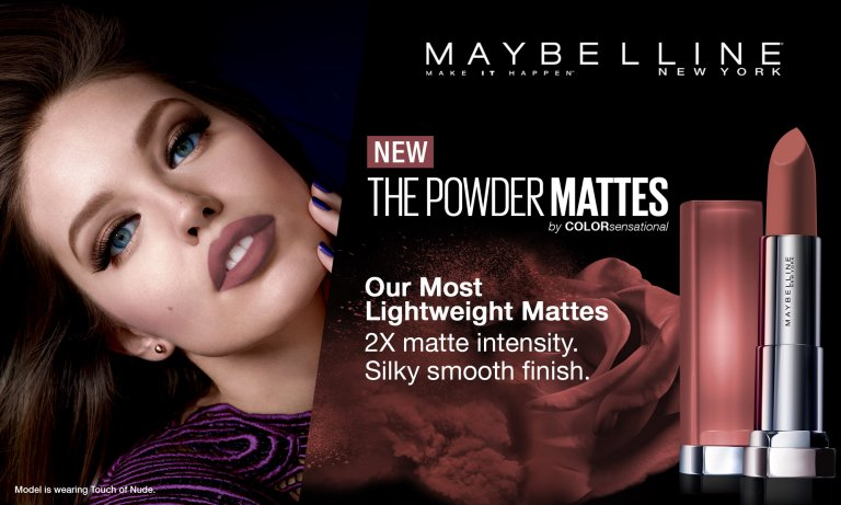 Xuýt xoa cùng bộ son lì siêu nhẹ môi 20 màu của Maybelline