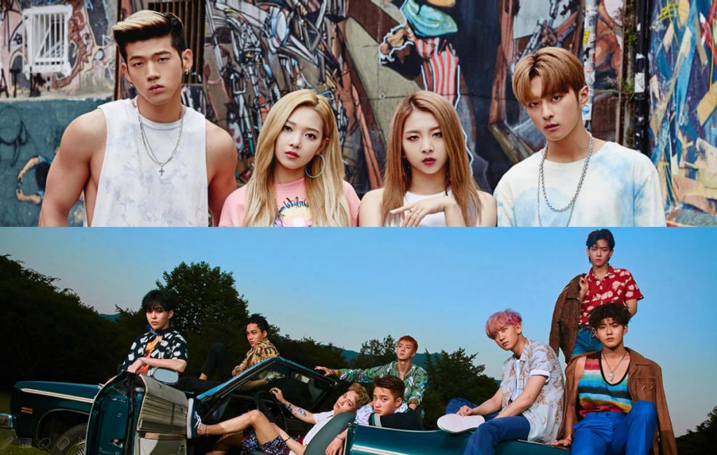 K.A.R.D và EXO ra bài hát mới cùng ngày: ai hơn ai?