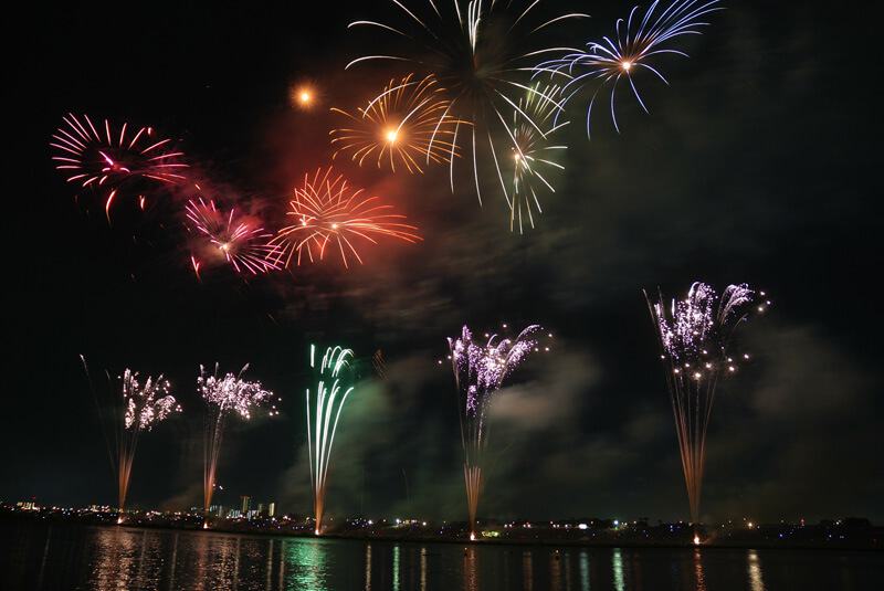 Du lịch tháng 7 – trải nghiệm lễ hội pháo hoa tại Nhật Bản