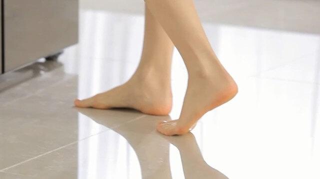 đôi chân trần
