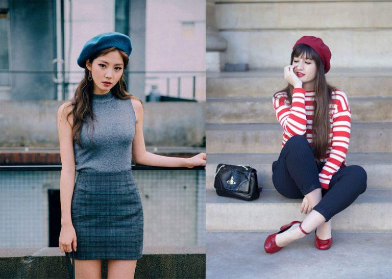 Muốn đội mũ beret đẹp đúng chuẩn thời trang nàng cần biết điều này