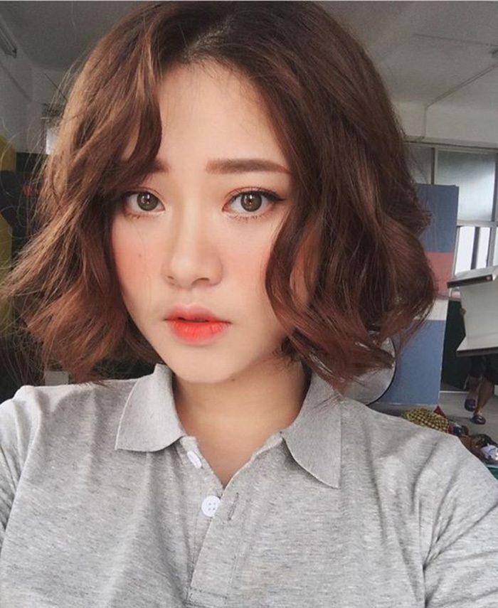 con gái tóc ngắn