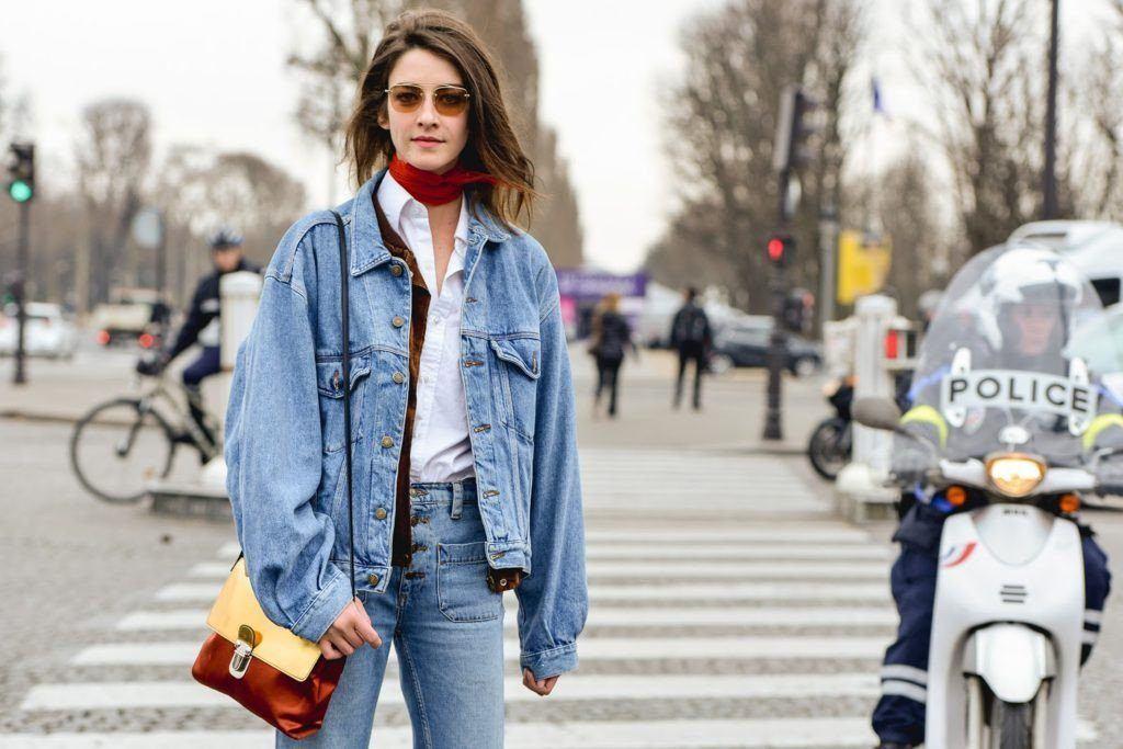 Cập nhật tủ quần áo ngày đông với denim jacket mặc-là-đẹp siêu hot