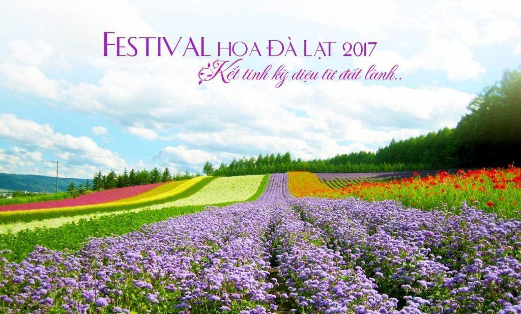 Nhanh tay xếp lịch đến Festival hoa Đà Lạt 2017 nào bạn ơi!