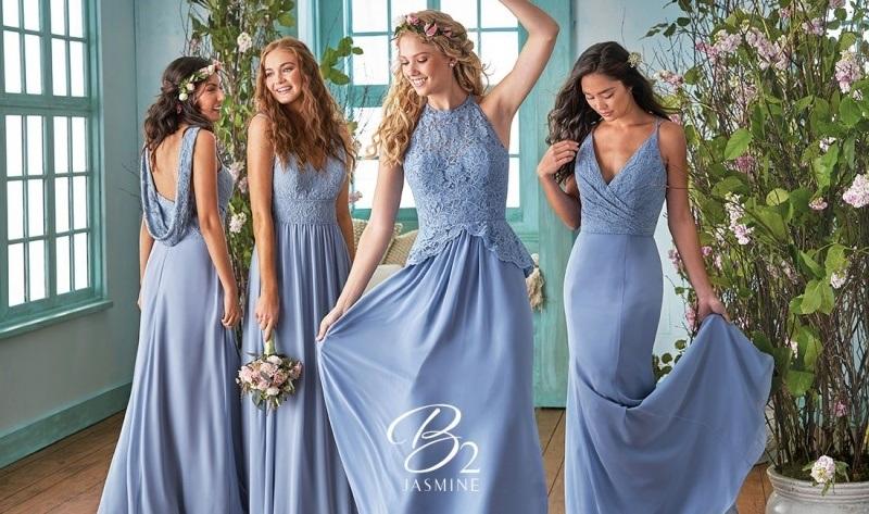 Đang băn khoăn chọn váy phù dâu đẹp và chất, đây là giải pháp cho bạn