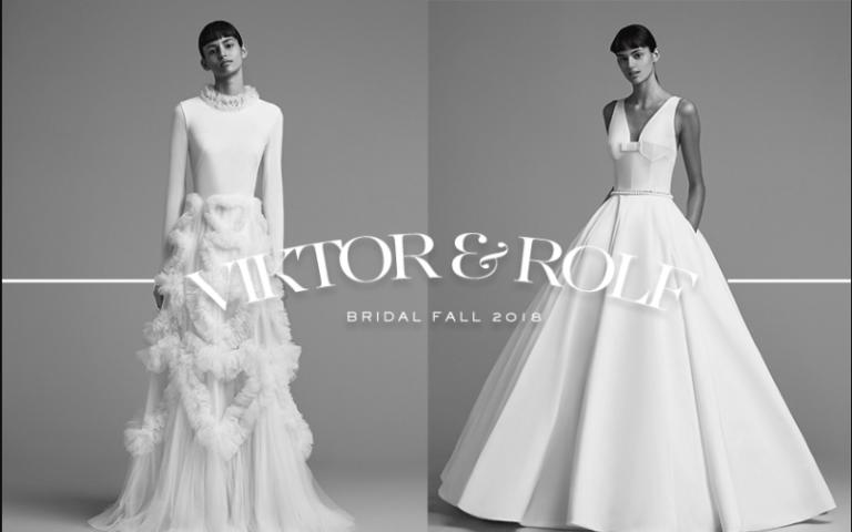 Nín thở với vẻ đẹp của BST váy cưới Thu 2018  từ Viktor & Rolf