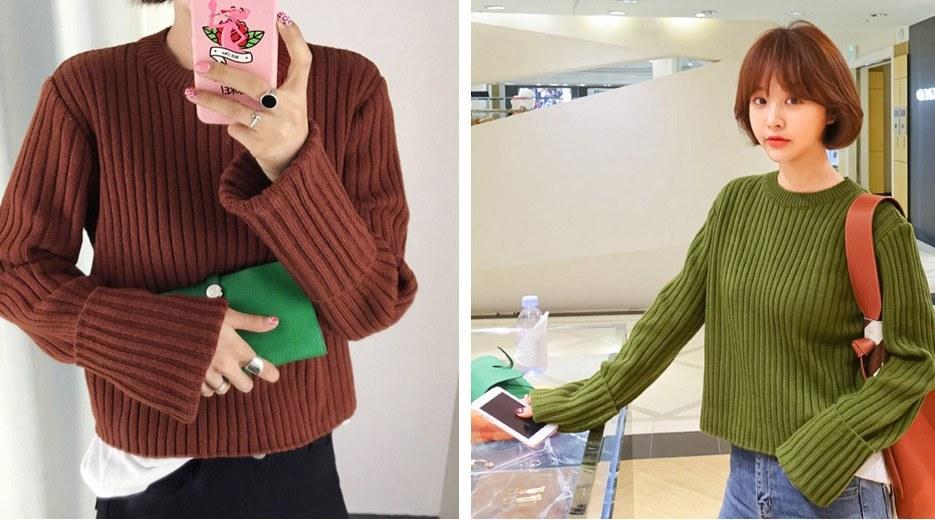 Những cách làm điệu để nàng diện áo len thời trang và sành điệu hơn