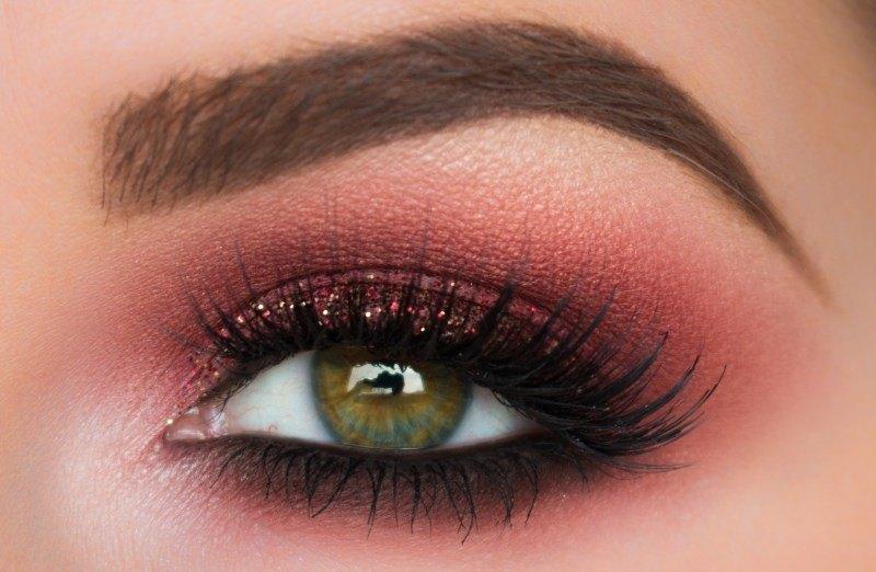 Những bảng màu mắt cho style trang điểm mắt tone burgundy (Phần 2)