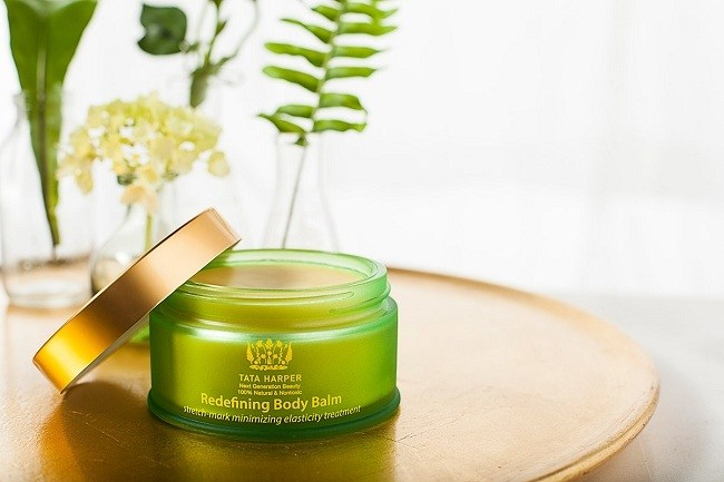 Tata Harper body balm by Vermont photogaphers