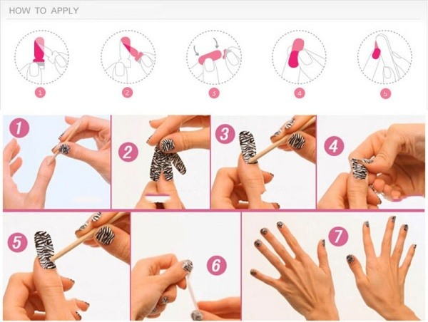 how-to-apply-nail-art-pictures-of-photo-albums-with-nail