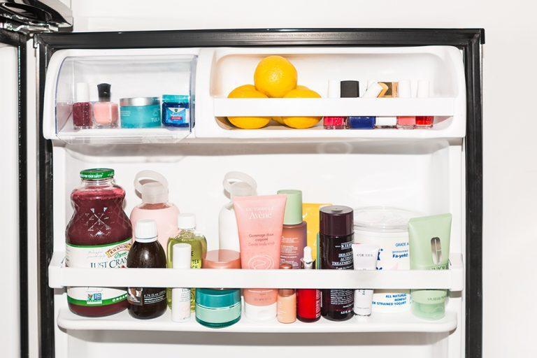 Những sản phẩm làm đẹp nào có thể bảo quản trong tủ lạnh?
