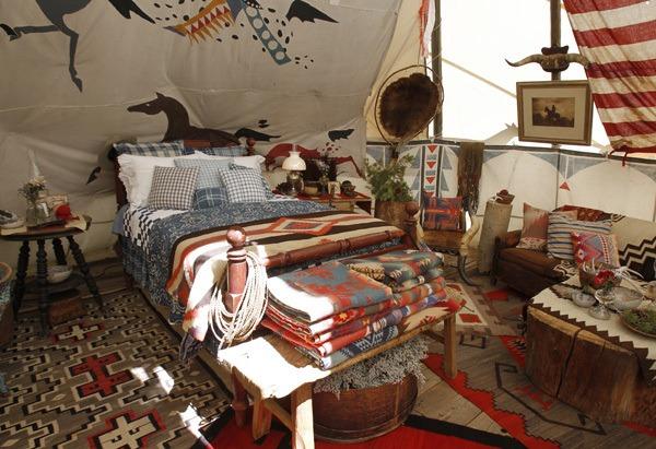 4 13 2011 - Oprah On Location At Ralph Lauren's Telluride, Colorado Ranch