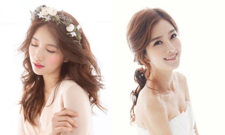 Những kiểu tóc đẹp nhẹ nhàng phù hợp với cô dâu trong mùa xuân này