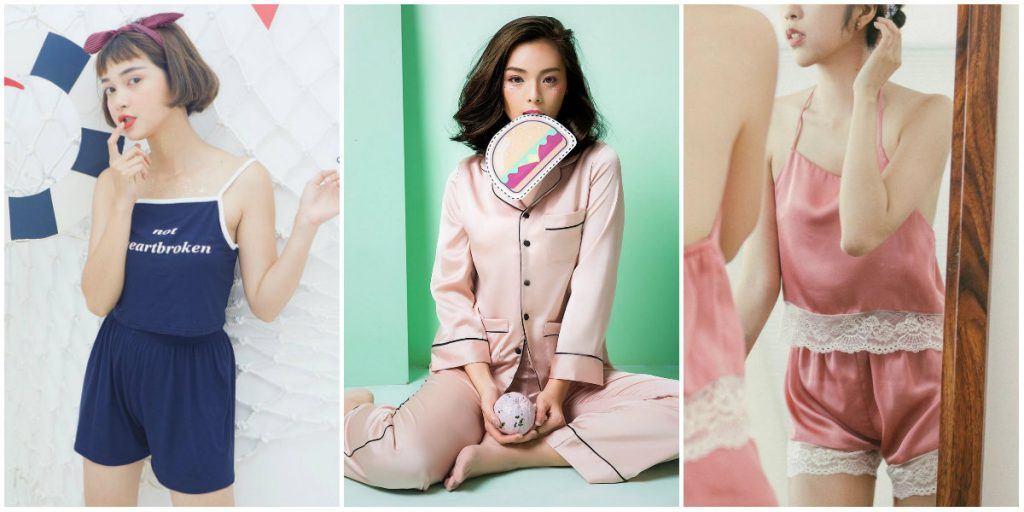 Các shop thời trang chuyên đồ ngủ thiết kế cực yêu, giá cực mềm (P.1)