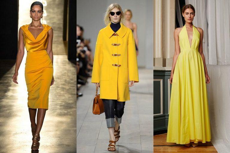 Đón đầu xu hướng thời trang với những item vàng mù tạt