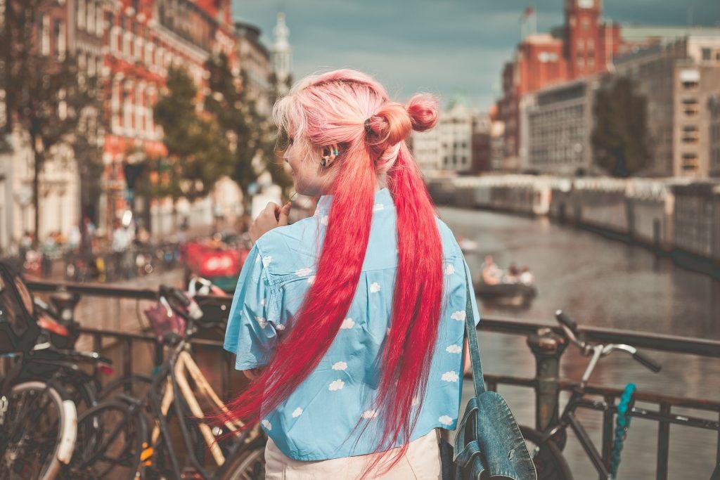 Nhuộm tóc 3D – xu hướng thời trang mới lạ mà độc đáo