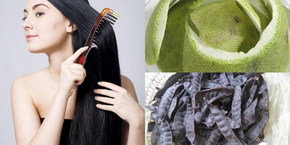 Cách làm dầu gội bồ kết dưỡng tóc mùa hè cực dễ tại nhà