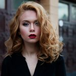 Russian Model Makeup Girl Beauty Red Hair