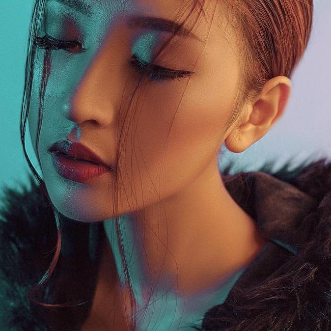 hot girl kim chi thi the face