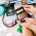 Mẹo sắp xếp mỹ phẩm khi đi du lịch