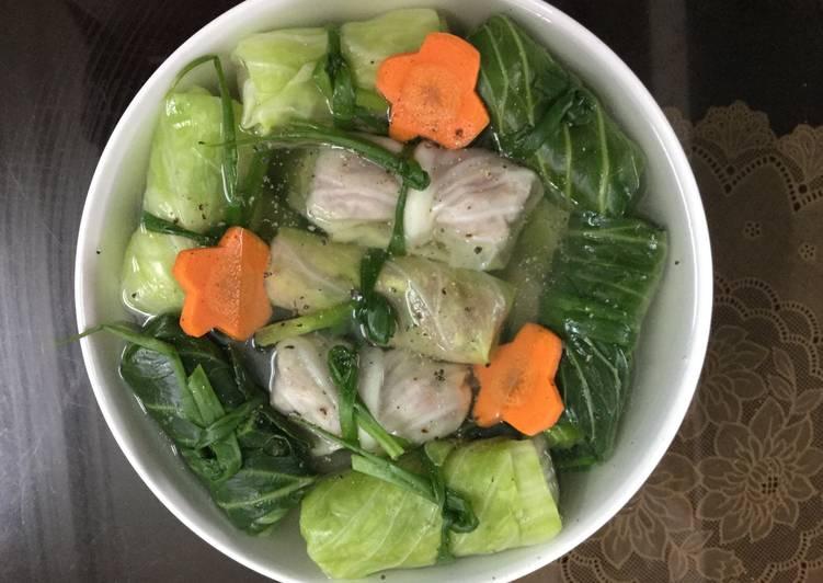 Mùa thu thanh nhiệt với 3 công thức món bắp cải cuốn thịt