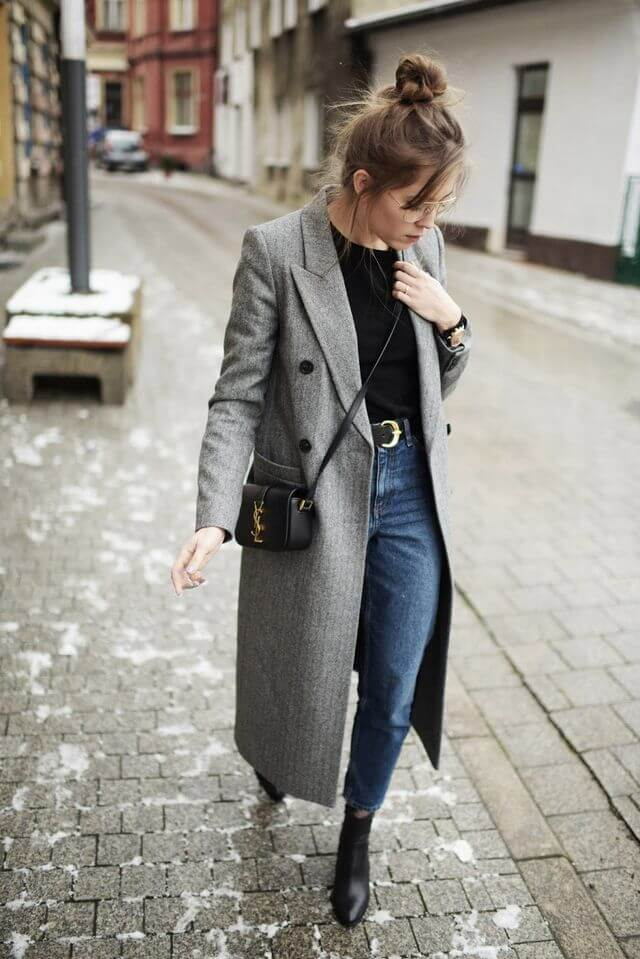 áo khoác dang dài