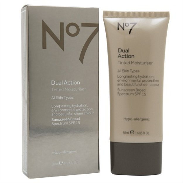 Boots No7 Dual Action Tinted Moisturizer