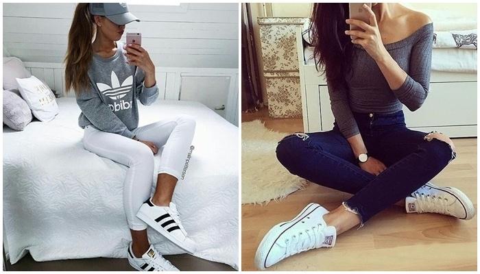 5 đôi giày sneaker nhất định bạn gái phải có trong mùa thu này