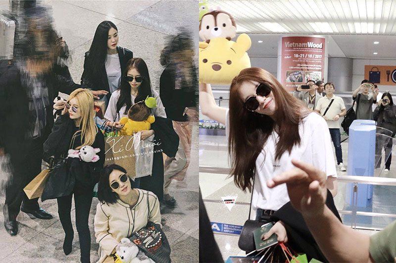 4 cô gái của T-Ara rạng rỡ và xinh đẹp trong ngày trở lại Việt Nam
