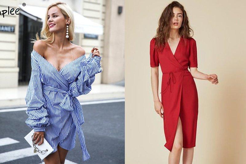 Váy quấn - xu hướng cực quyến rũ không thể ngó lơ mùa đông này