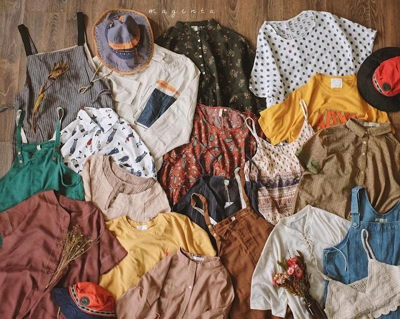 Danh sách 10 shop quần áo secondhand rẻ, đẹp bạn gái tha hồ mua sắm