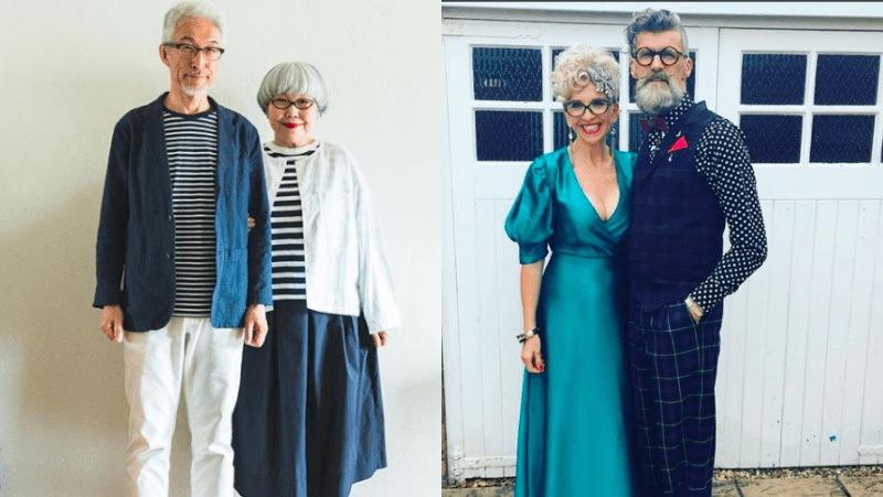 """4 cặp đôi """"già gân"""" có gu thời trang khiến các fashionista phải ngả mũ"""