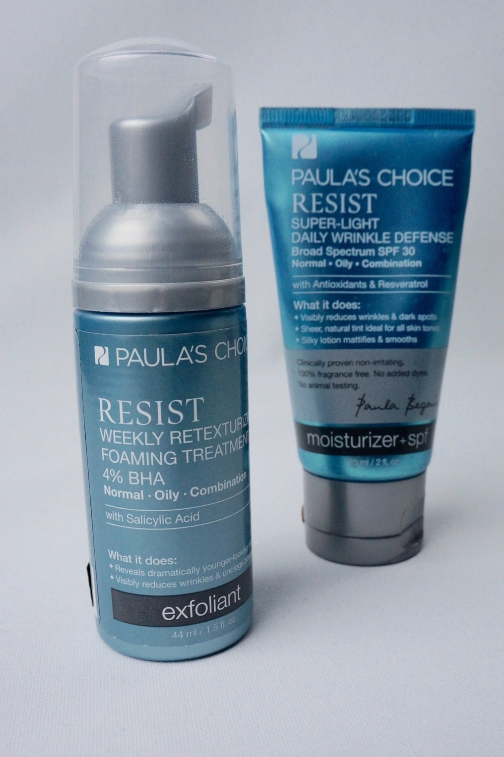 Paula's Choice Resist Super-Light Wrinkle Defense spf 30 'review' 2