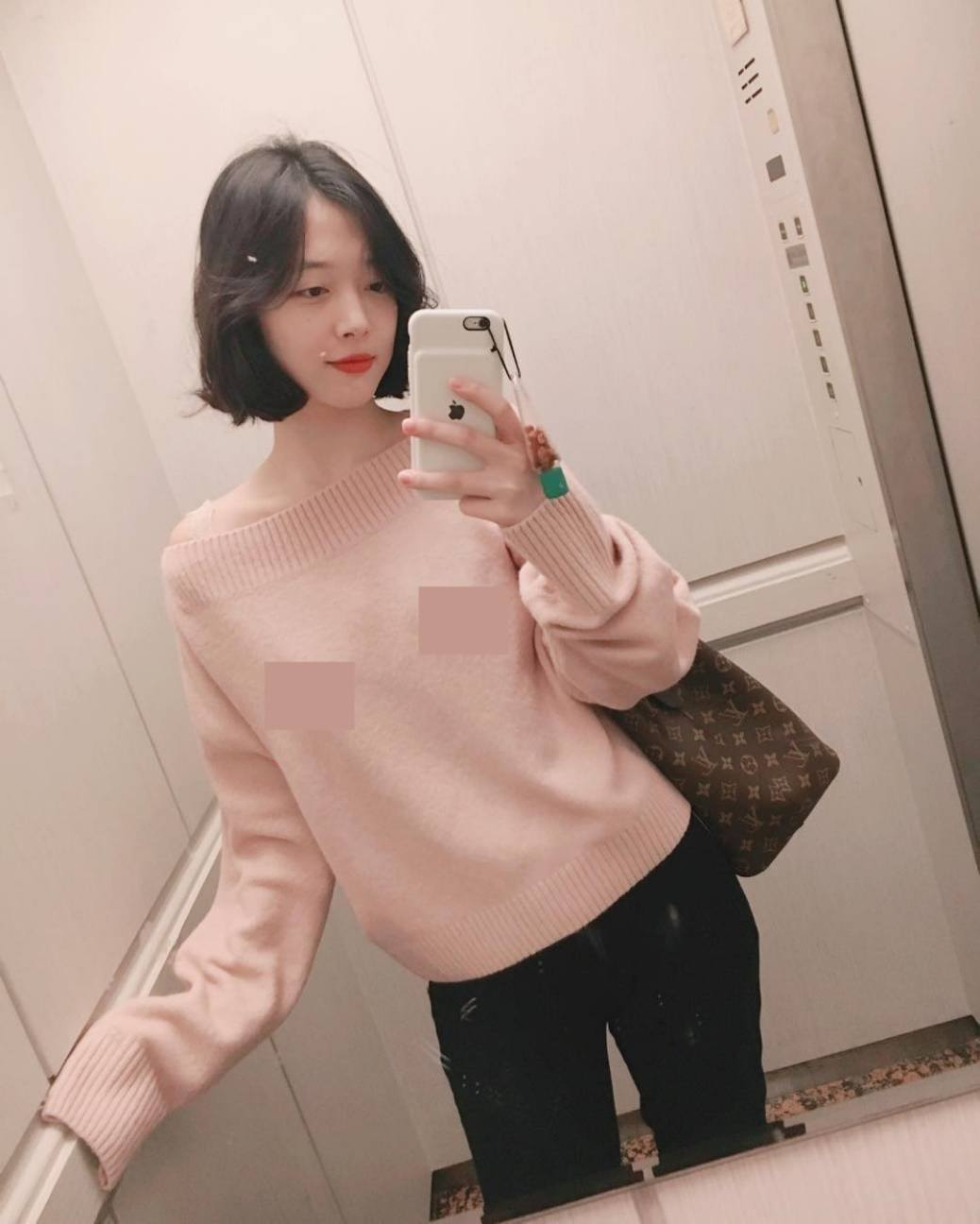 sulli-with-short-hair