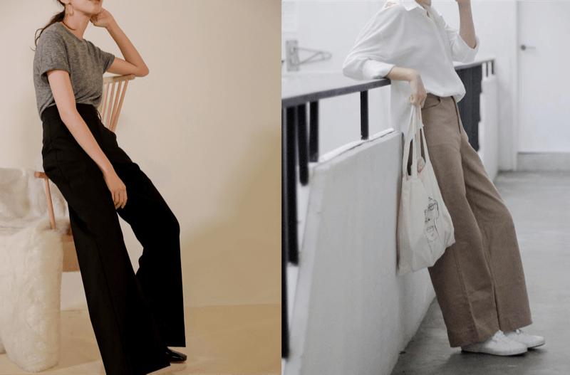 """Cách diện 4 kiểu quần ống rộng """"cổ lỗ sĩ"""" đẹp hết nấc như gái Hàn"""